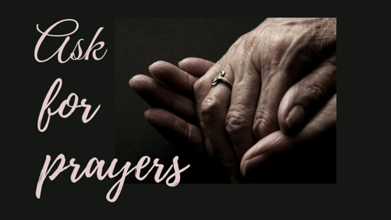 Ask for Prayers